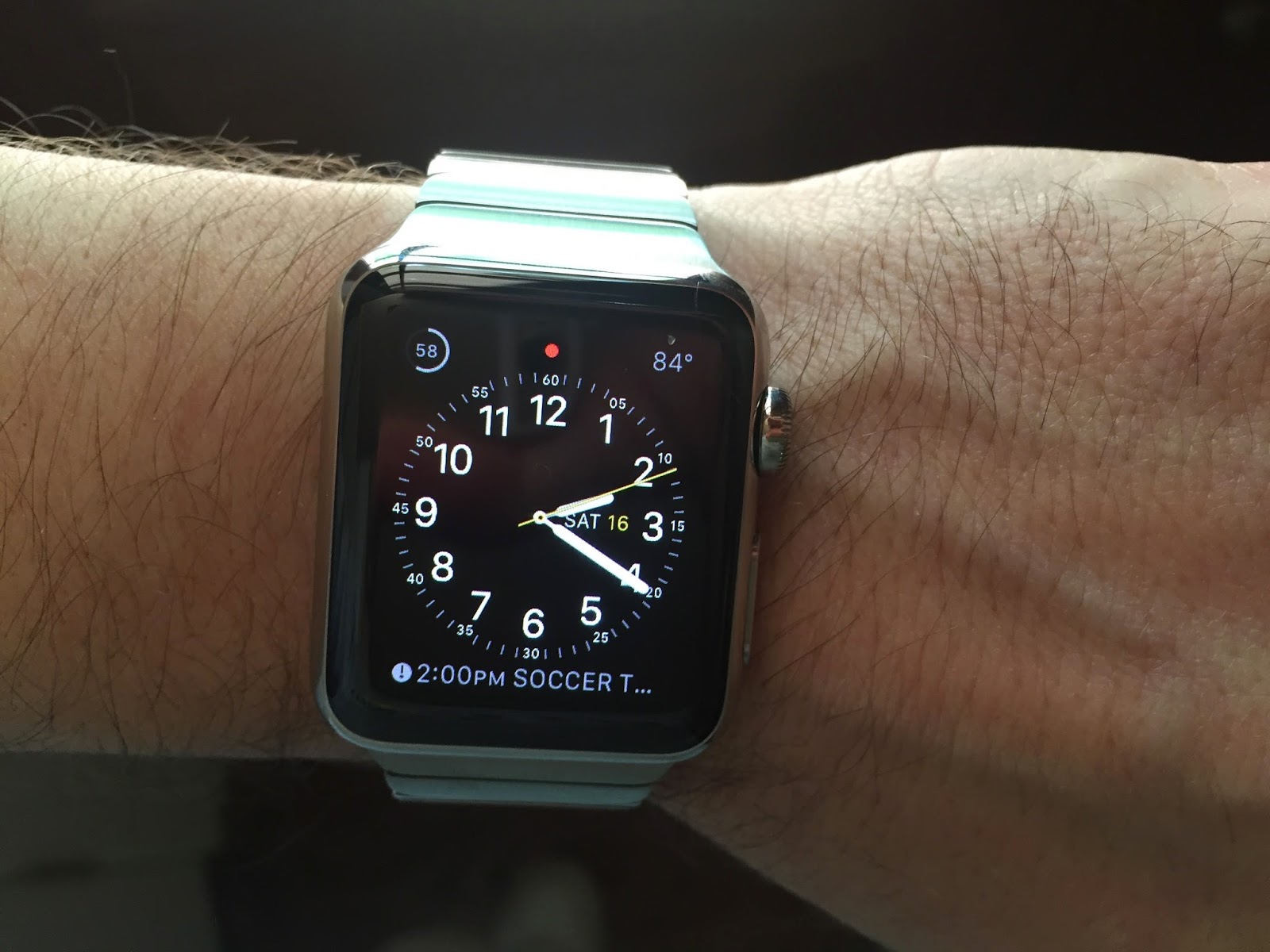 Avi Rubin's Blog: 24 Hours with My New Apple Watch