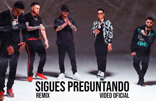 Alex Rose & Myke Towers & Miky Woodz & J Alvarez & Jory - Sigues Preguntando (Remix)