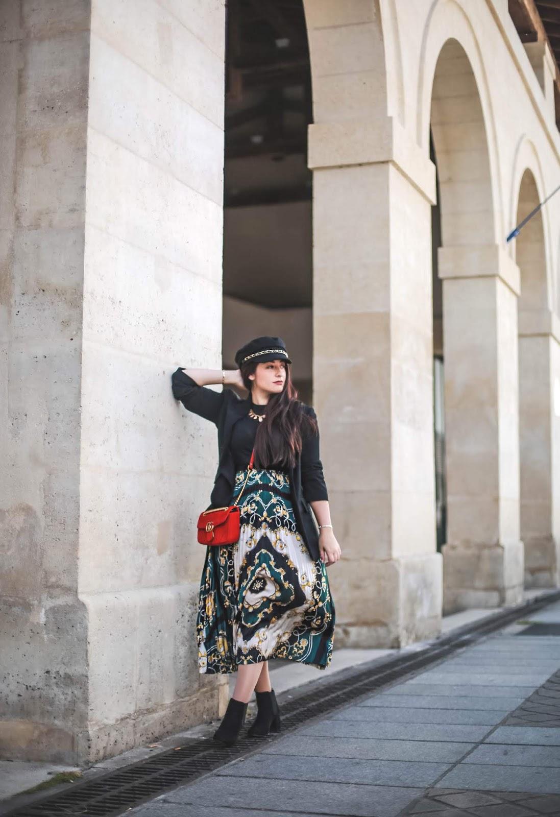 motif foulard blog mode