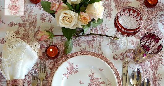 Celebrating Valentines Day and a Tablescape