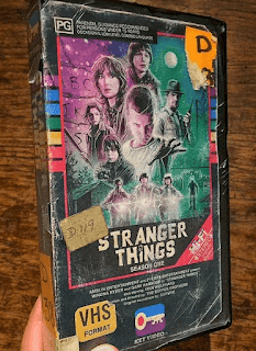 Stranger Things, fake VHS