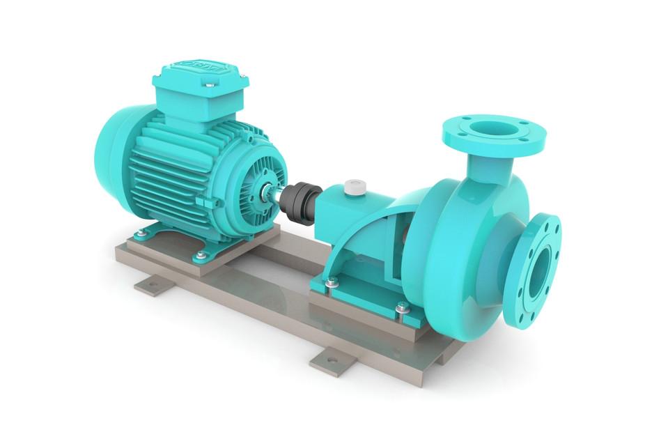 300  Centrifugal Pump 3D || Free download 3D models