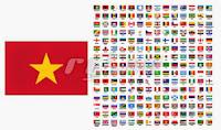 Bộ đếm lượt truy cập Blog có biểu tượng quốc kỳ của người viếng thăm