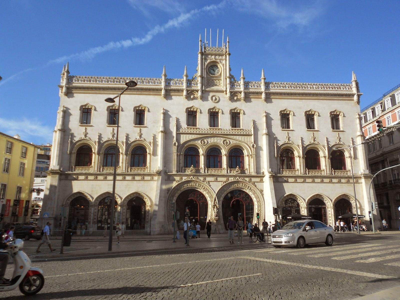 Lisbon, Lisboa, gare du rossio, Lisbonne