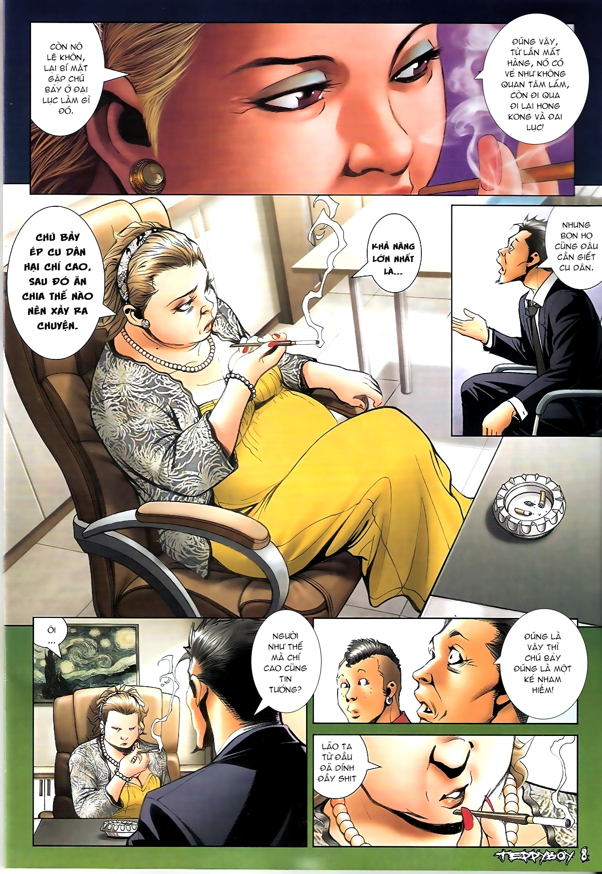 Người Trong Giang Hồ - Chapter 1355: Đã lâu chưa xuất hiện - Pic 7