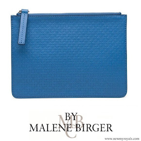 Crown Princess Victoria carried By Malene Birger Dipple Clutch