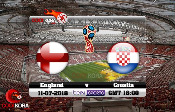 مشاهدة مباراة إنجلترا وكرواتيا اليوم 11-7-2018 بي أن ماكس كأس العالم 2018