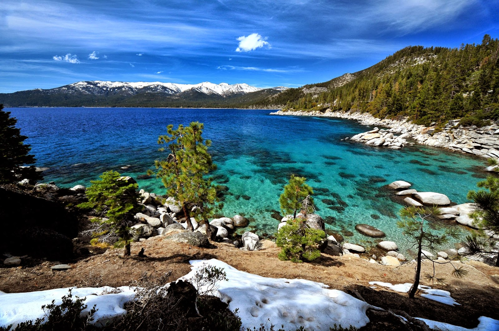Lake Tahoe California Nevada HD Wallpapers