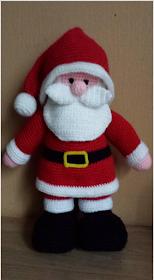 Haakpatroon Kerstman