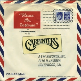 Un Clásico: Please Mr Postman- The Carpenters (Video)
