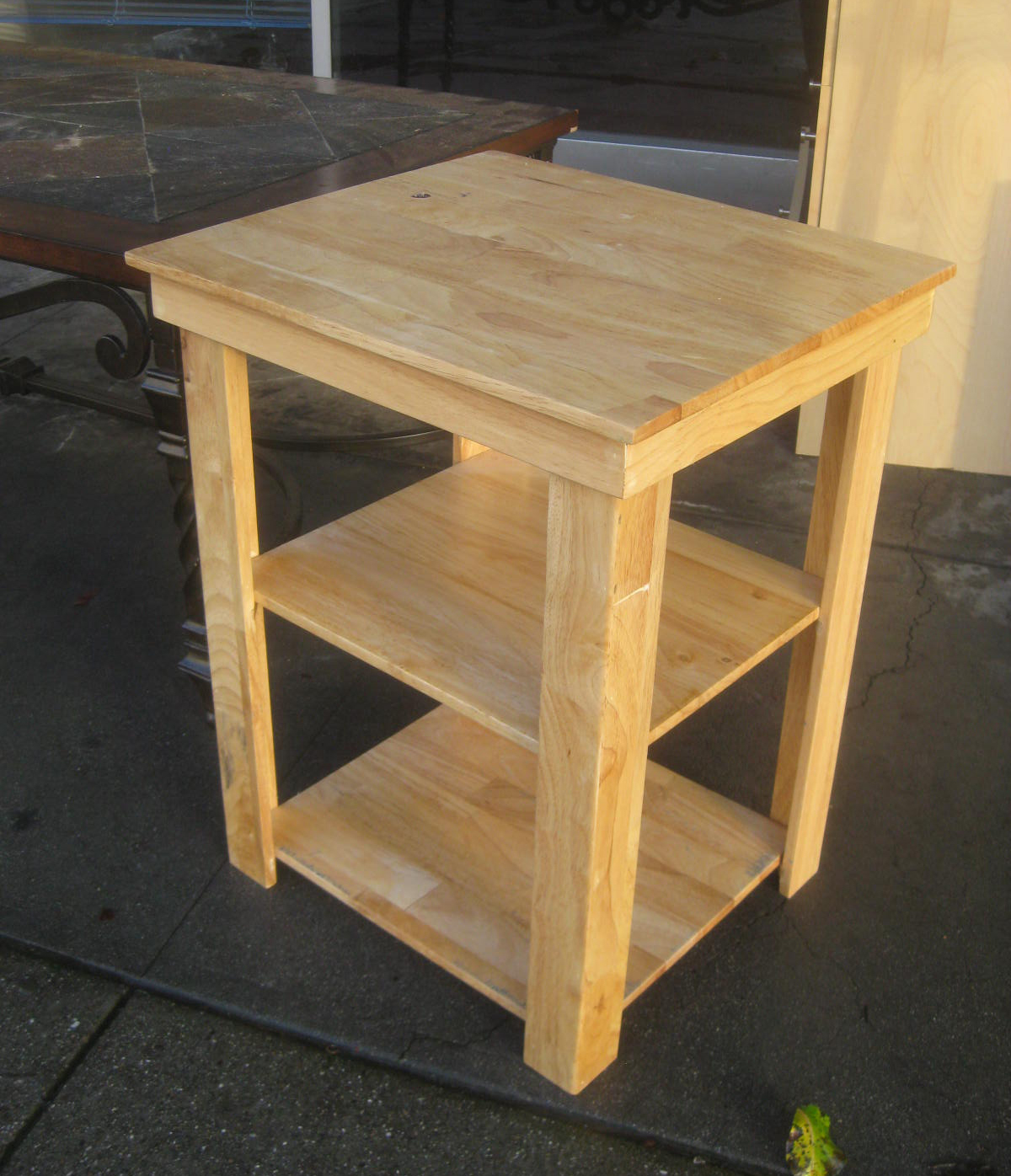 UHURU FURNITURE & COLLECTIBLES: SOLD - Small Utility Table ...