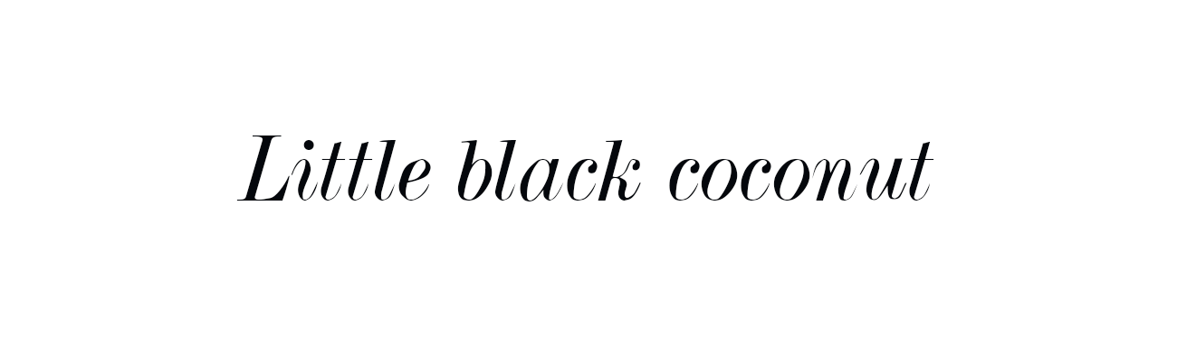 Blog de Moda | LITTLE BLACK COCONUT | Bloguera de moda en León