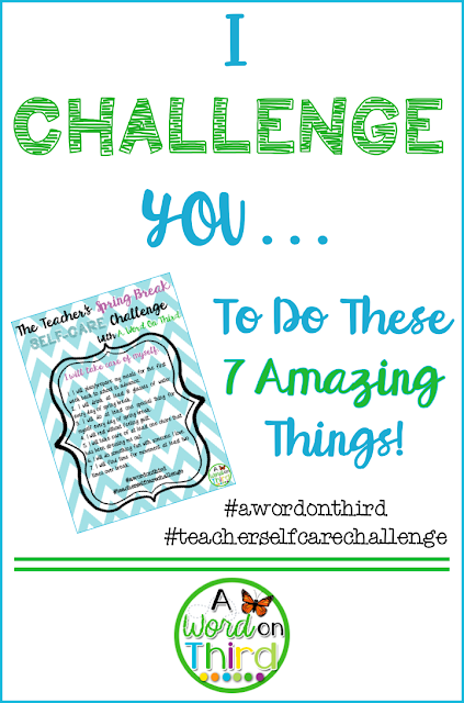 I CHALLENGE YOU To Do These 7 Amazing Things! - Self Care Challenge By A Word On Third