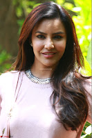 Priya Anand in simply Pink at an interview for movie KOOTATHIL ORUTHAN~  Exclusive celebrities galleries 008.jpg