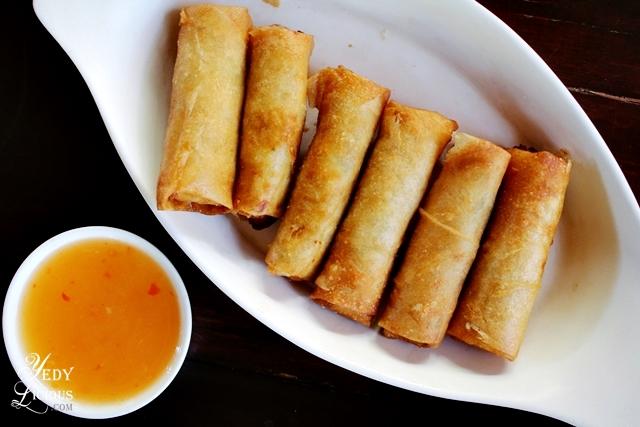 Fish Lumpia at Balinsasayaw Restaurant Best Restaurants in Puerto Princesa Palawan Philippines YedyLicious Manila Food and Travel Blog