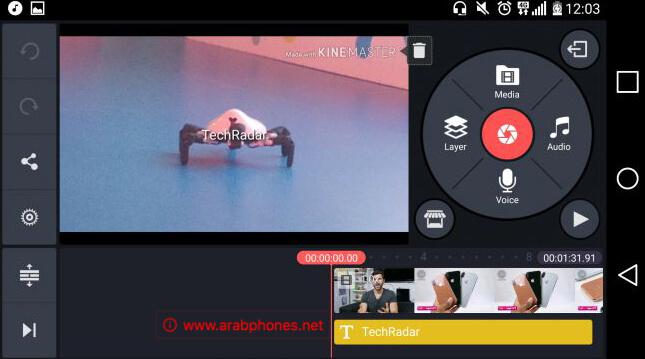 تطبيق KineMaster - تحرير الفيديو