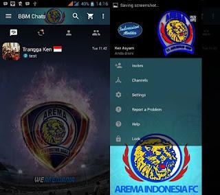 Bbm Mod Arema Malang Terbaru v3.2.5.12 Apk
