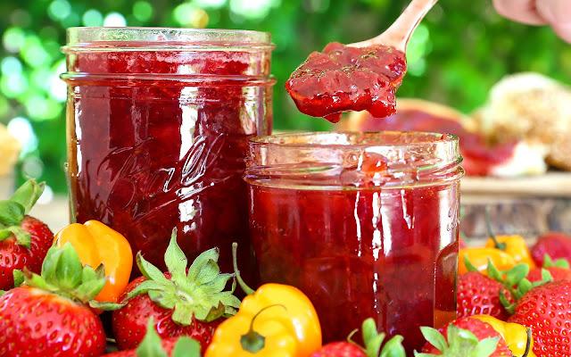 Strawberry Habanero Everything Spread
