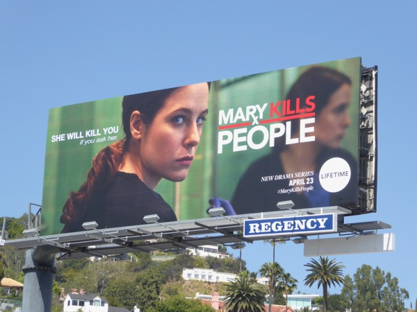 Mary Kills People series premiere billboard