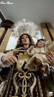 Hoy en Sevilla Rosario vespertino del Carmen de San Pablo.