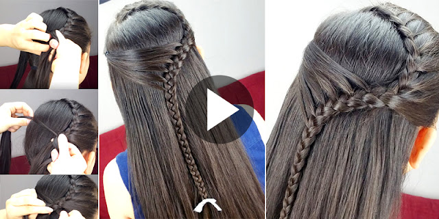 Learn - How To Create Quick and Easy Hairstyle, See Full Tutorial