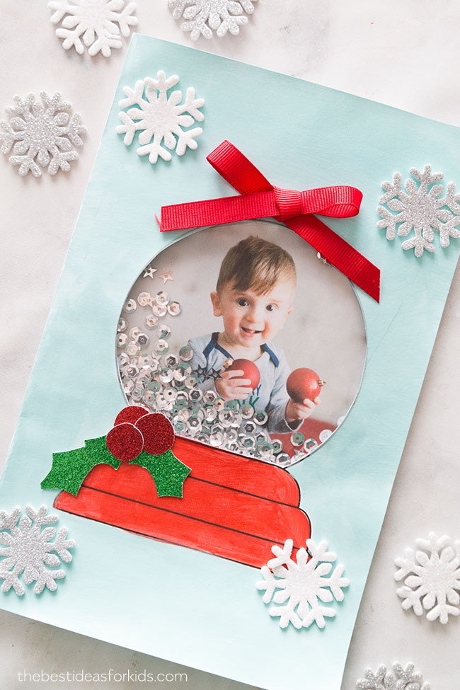 Easy Christmas Cards For Kids.20 Simple Christmas Cards Kids Can Make The Joy Of Sharing