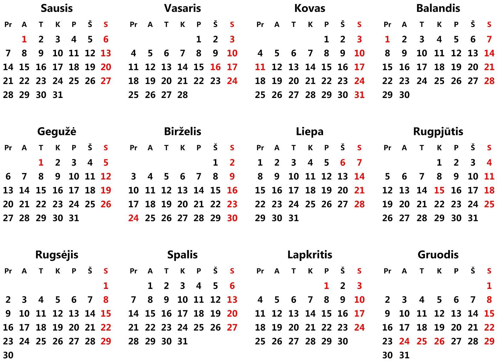 2020 Darbo Kalendorius.2013 M Finansinis Kalendorius Treatrijifti Ga