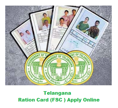 telangana fsc ration card