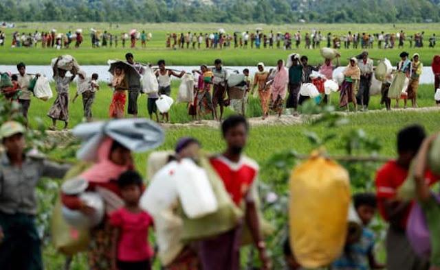 Ethnic Rohingya in Myanmar
