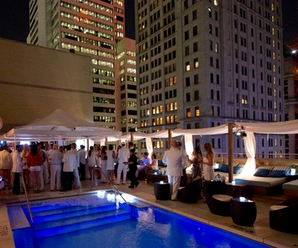 On Our Radar: Rooftop Poule Party at the Joule, Dallas