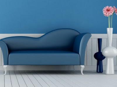 Perpaduan warna sofa