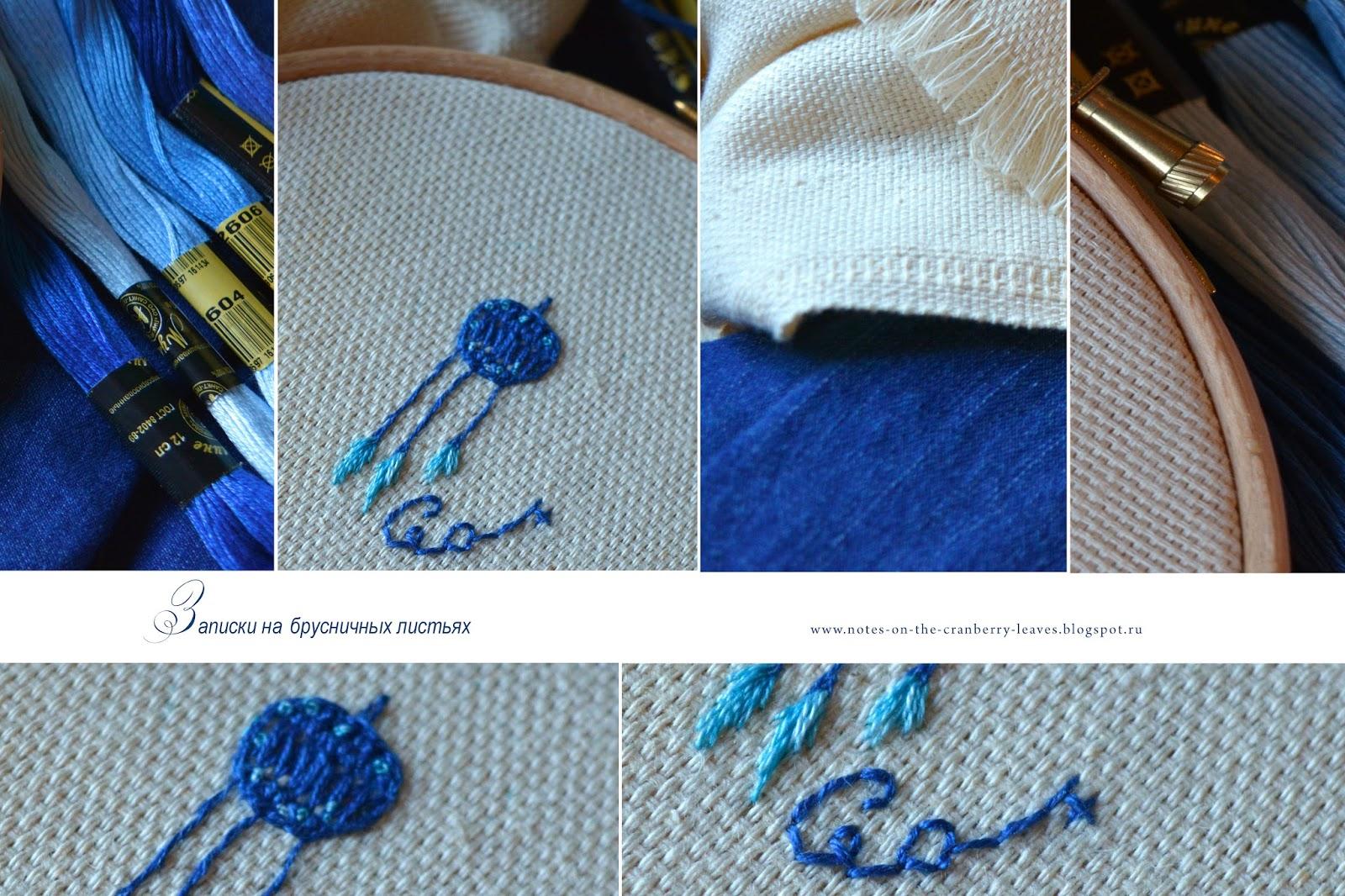 Записка на тему вышивка