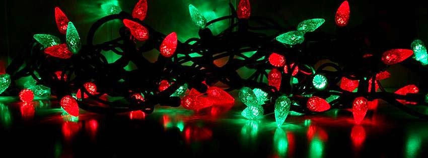 christmas lights facebook covers - photo #10