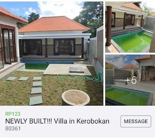 2 bedroom villa kerobokan Bali