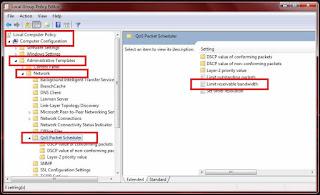 Cara Mempercepat Koneksi Internet Paling Ampuh pada Windows 7(2)