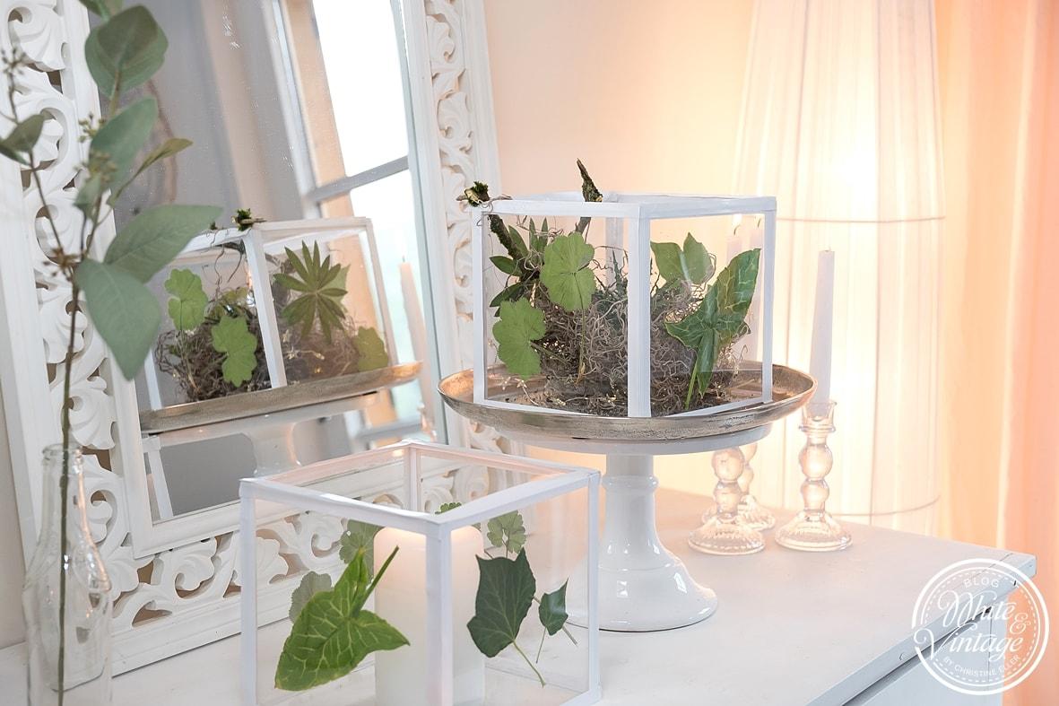 Windlicht aus Acrylglasplatten selber machen.