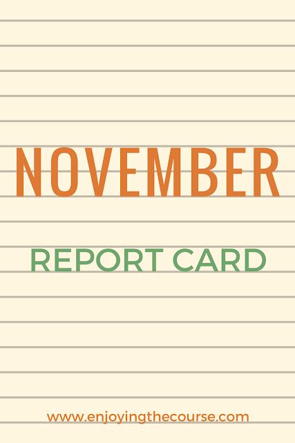 November Report Card