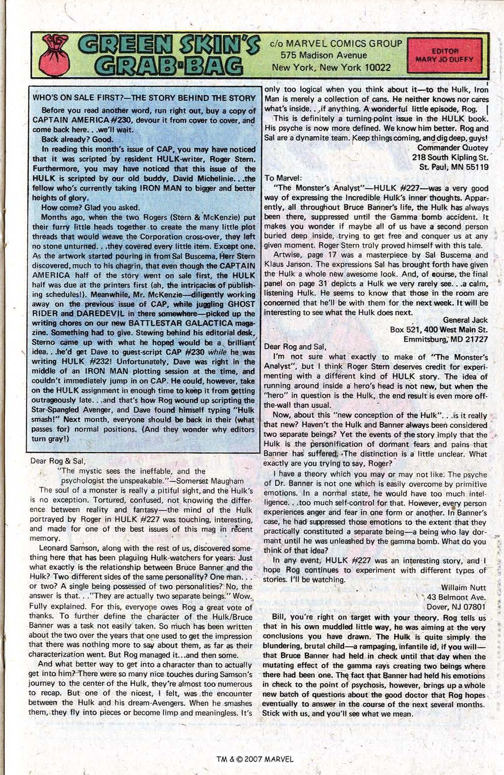 Captain America (1968) Issue #230b #145 - English 21