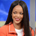 Rihanna on the show Good Morning America