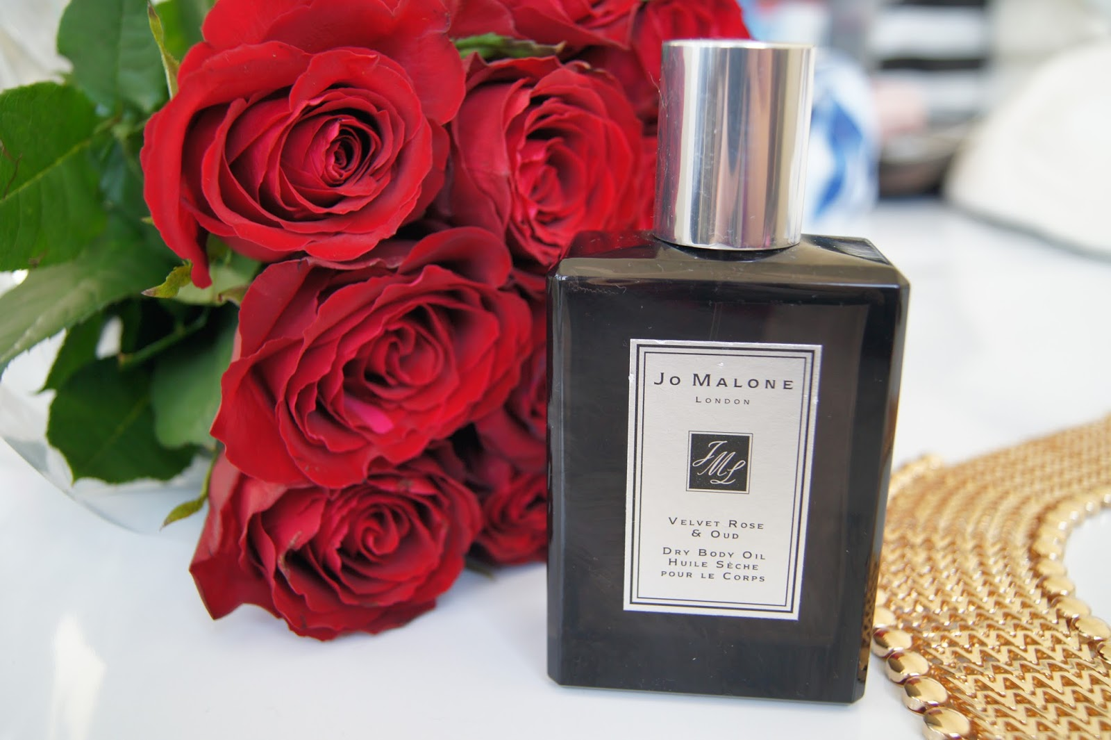 Jo Malone Dry Body Oil Velvet Rose and Oud review