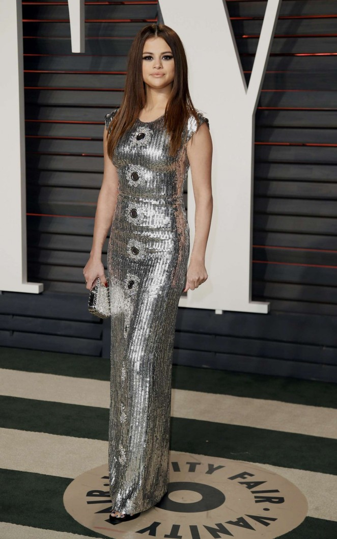 Selena Gomez – 2016 Vanity Fair Oscar Party in Beverly Hills