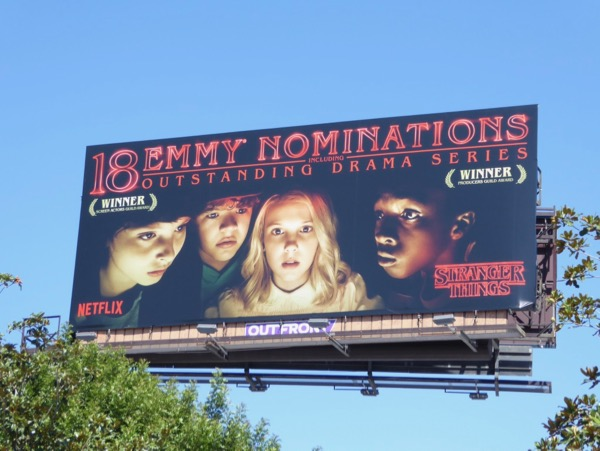 Stranger Things season 1 Emmy noms billboard