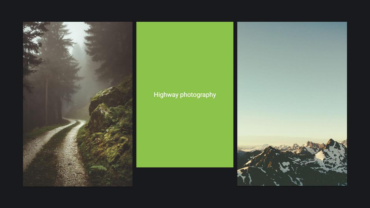 flip image effect pure vanilla js