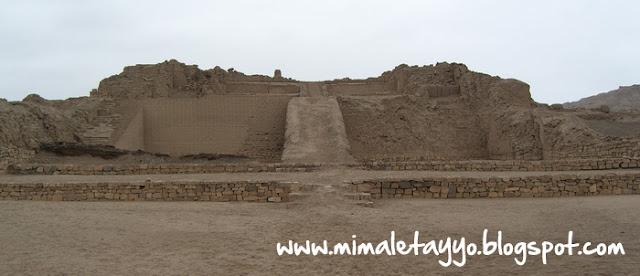 Pirámide con Rampa 1, Pachacamac, Perú