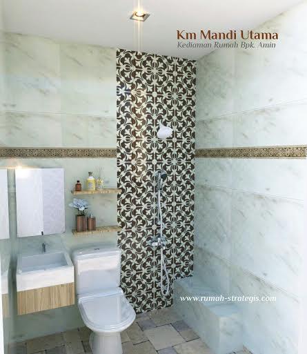tips cara mendesain kamar mandi minimalis dan modern