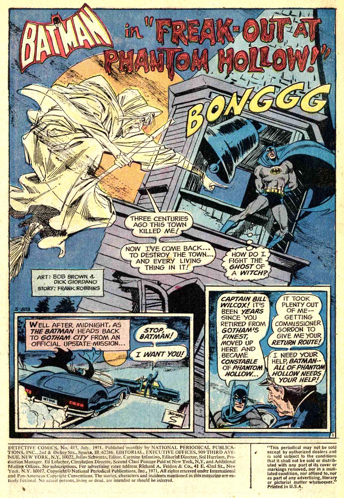 Detective Comics (1937) 413 Page 2