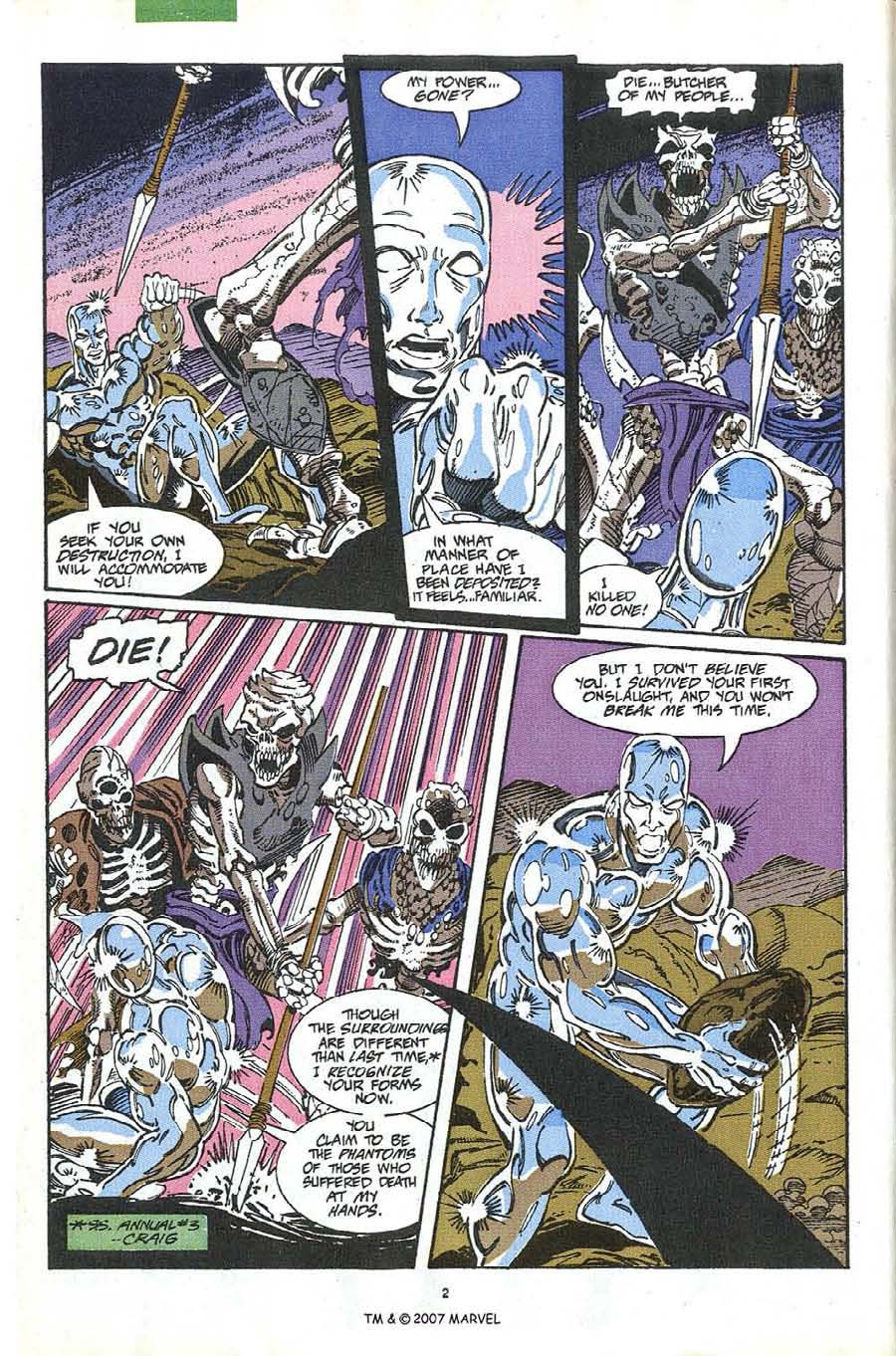 Read online Silver Surfer (1987) comic -  Issue #63 - 4
