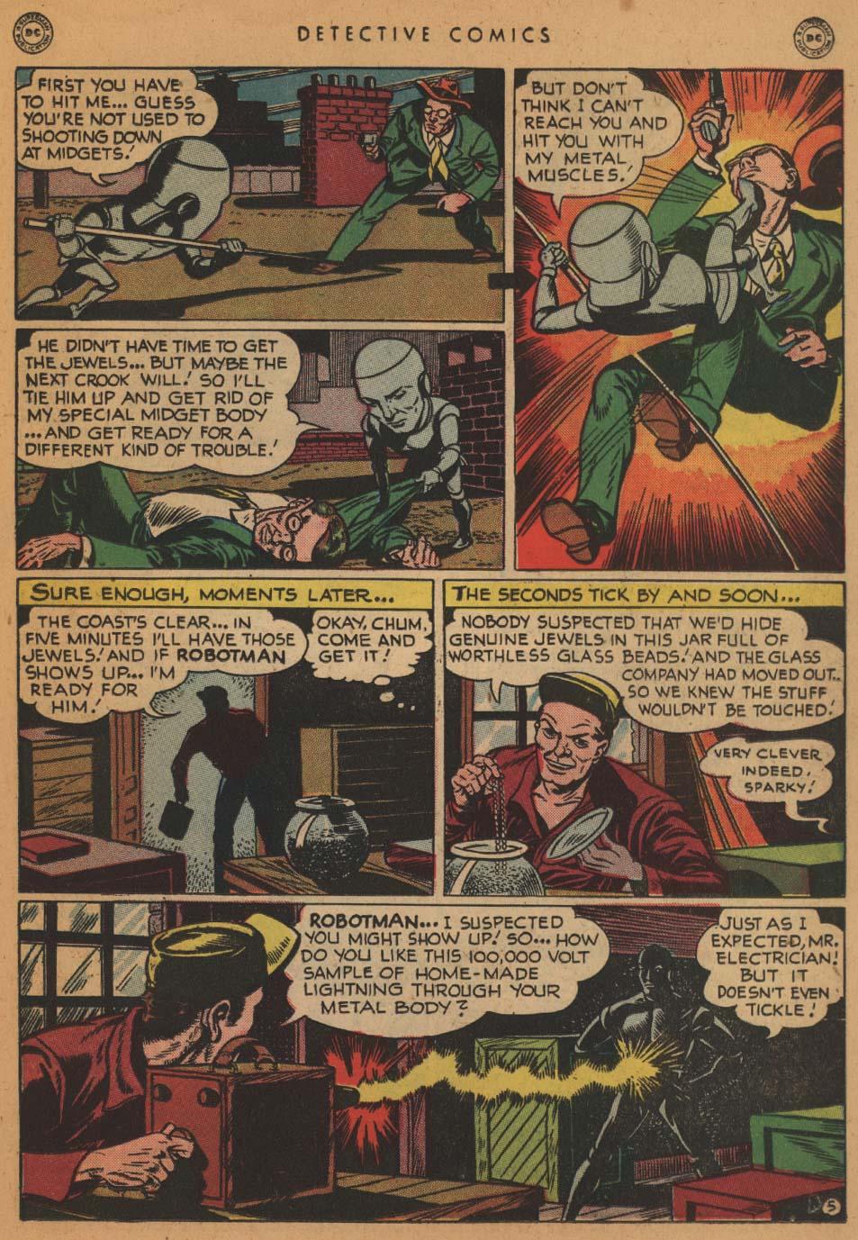 Read online Detective Comics (1937) comic -  Issue #152 - 21