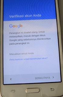 Cara Mengatasi Verifikasi Akun google Sebelumnya Hp Samsung OTG