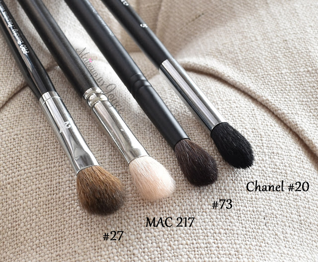 Chanel #20 Sephora #73 Brush Dupe